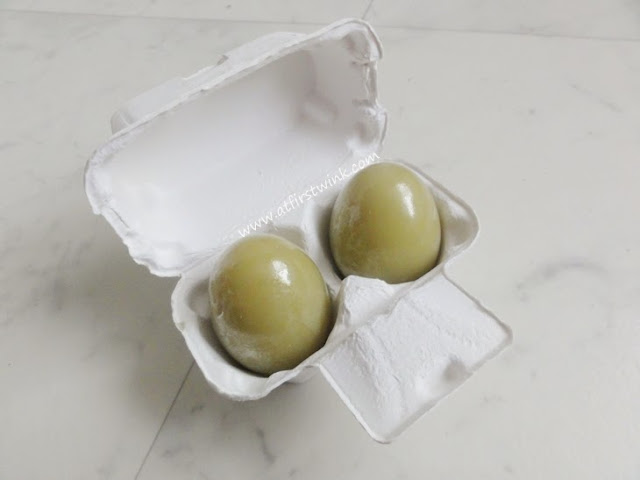 Holika Holika green tea egg soaps