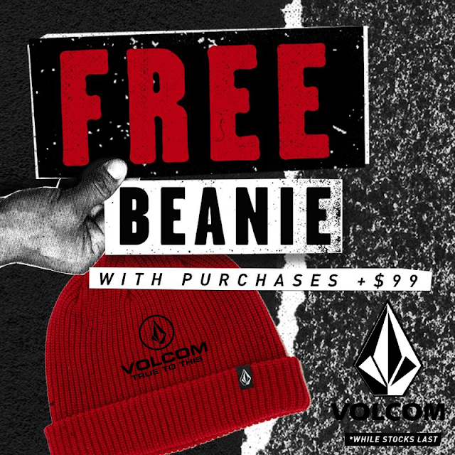 FREE BEANIE WITH PURCHASES +$99