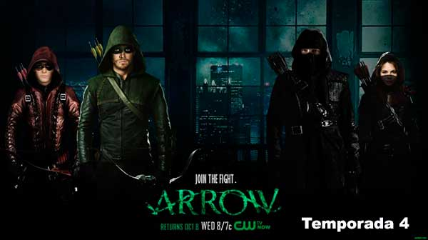 Arrow Temporada 4 HD Completa Español Latino