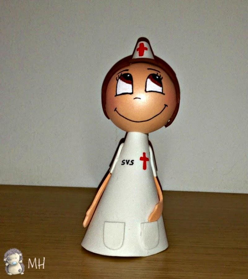 Fofulápiz enfermera