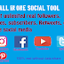 All in one social tool | YouTube, Facebook, Twitter, Insta