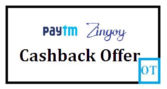 Paytm And Zingoy Cashback Offer on gift card