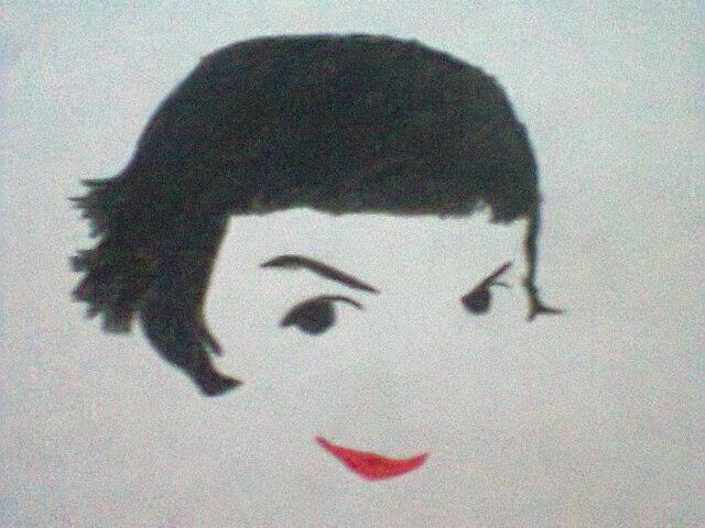 Enlear Desenho Amelie Poulain