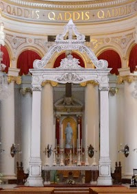 A Baldachin for Christ the King Parish in Paola, Malta