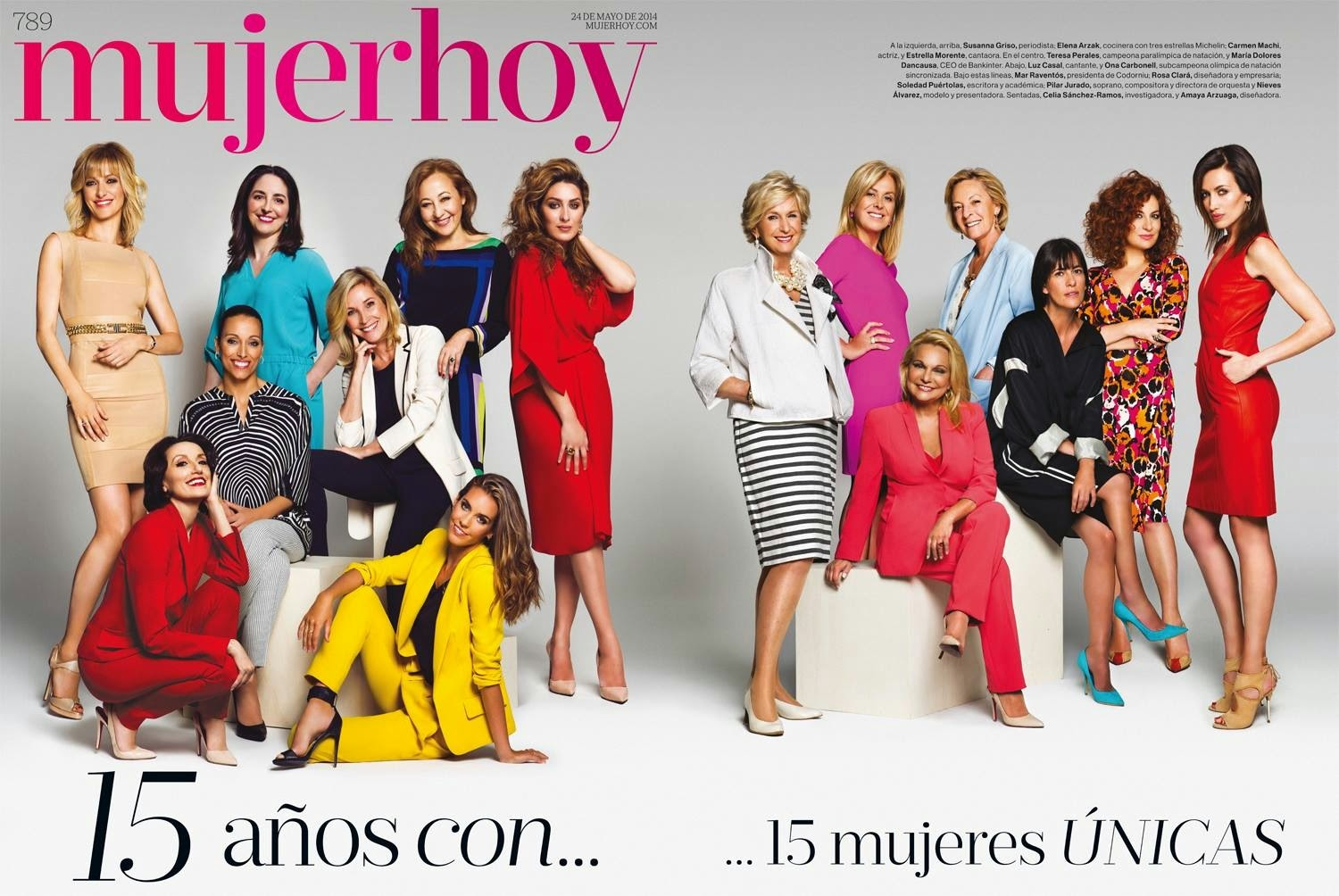 Mujer Hoy Cover