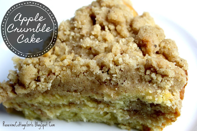 Delicious fall coffee cake