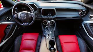 2019 Chevrolet Camaro SS dashboard interior