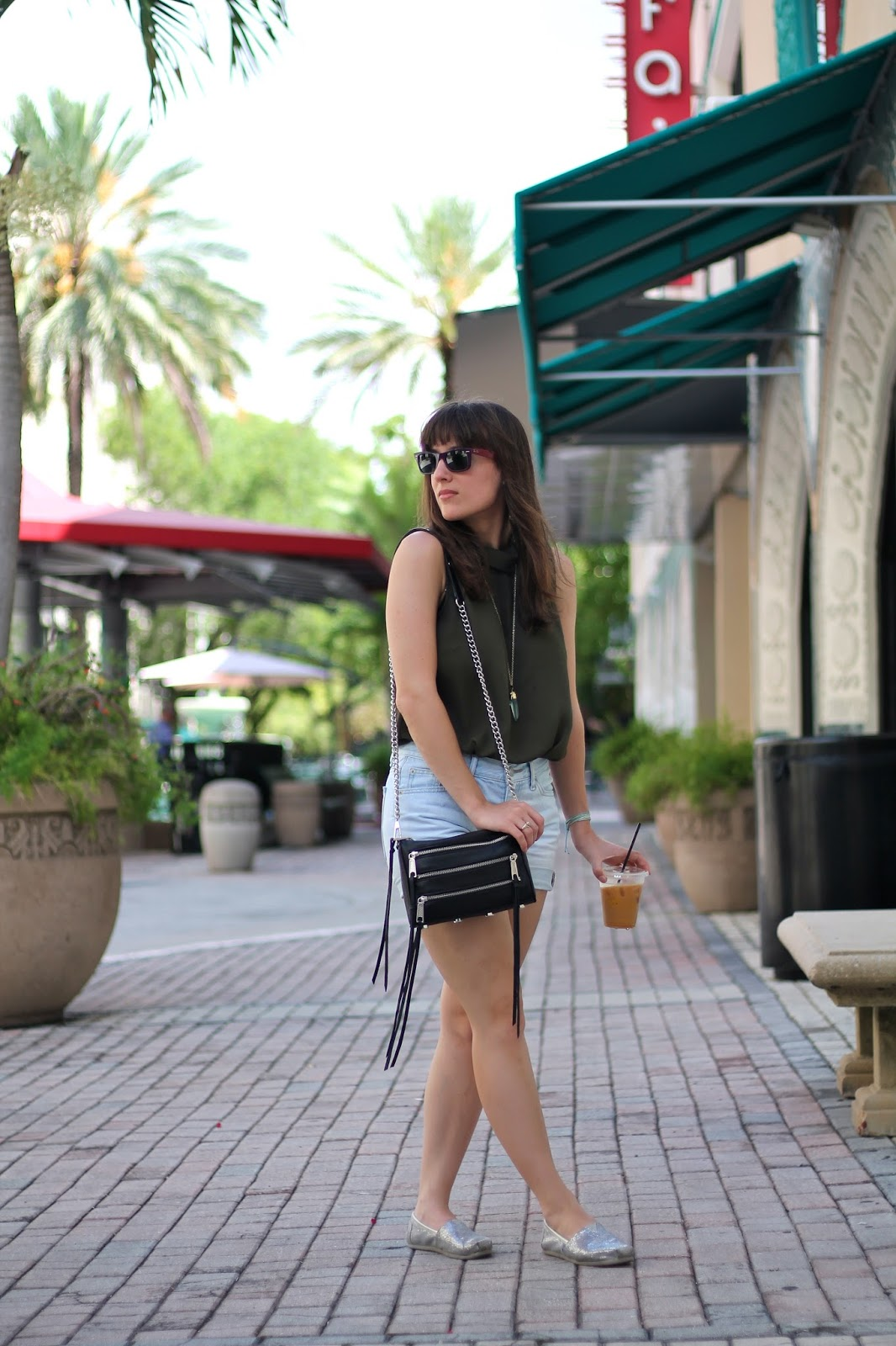 Miami fashion blogger, Miami style, what I wore, style blogger, fashion blogger, summer style, outfit ideas, Rebecca Minkoff, forever 21, Gap, TOMS, The HiRode, Ray-Ban, Nordstrom Rack, summer outfits, summer looks, Miami blogger