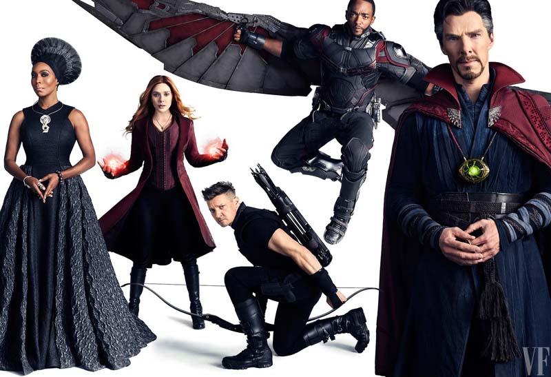 Vingadores: Guerra Infinita | Heróis são destaque em capas da Vanity Fair
