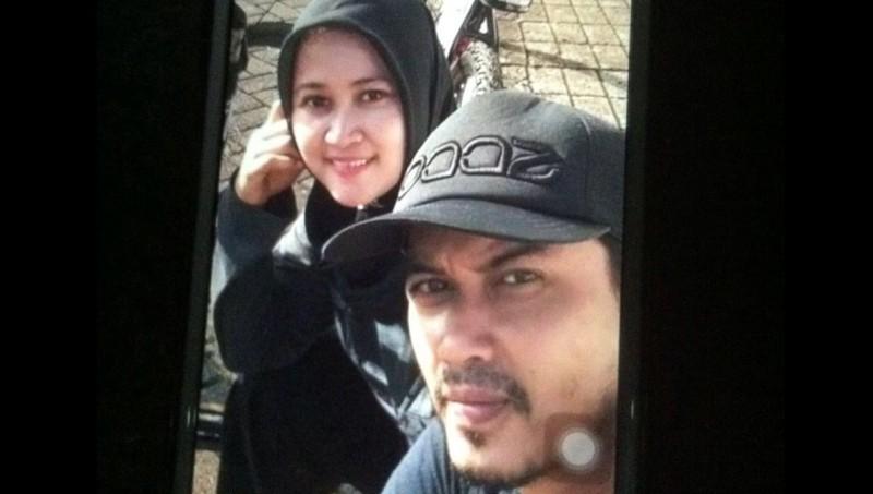 Tampang Hidayat Taufiqurahman dan Rita Agustina