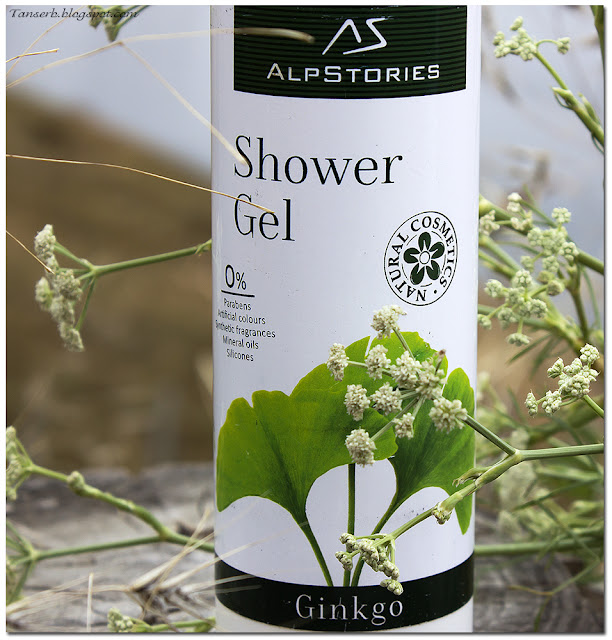 Гель для душа AlpStories Shower gel Ginkgo