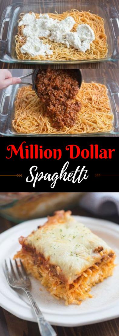 Million Dollar Spaghetti #dinner #spaghettirecipe