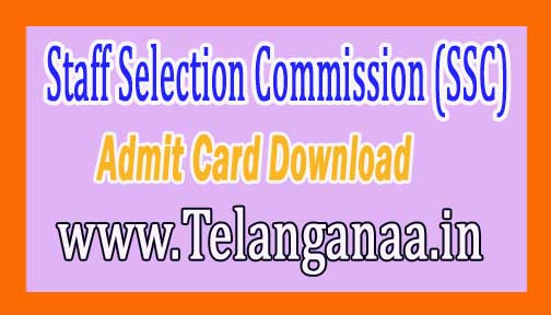 SSC CGL Tier II Admit Card 2016 Download