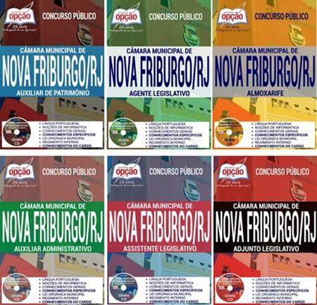 Apostila concurso Câmara de Nova Friburgo 2017