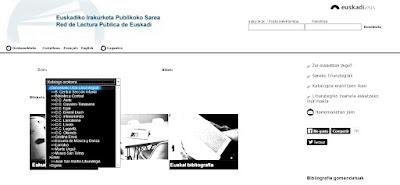 Donostiako liburutegi sarea katalogo bateratuan