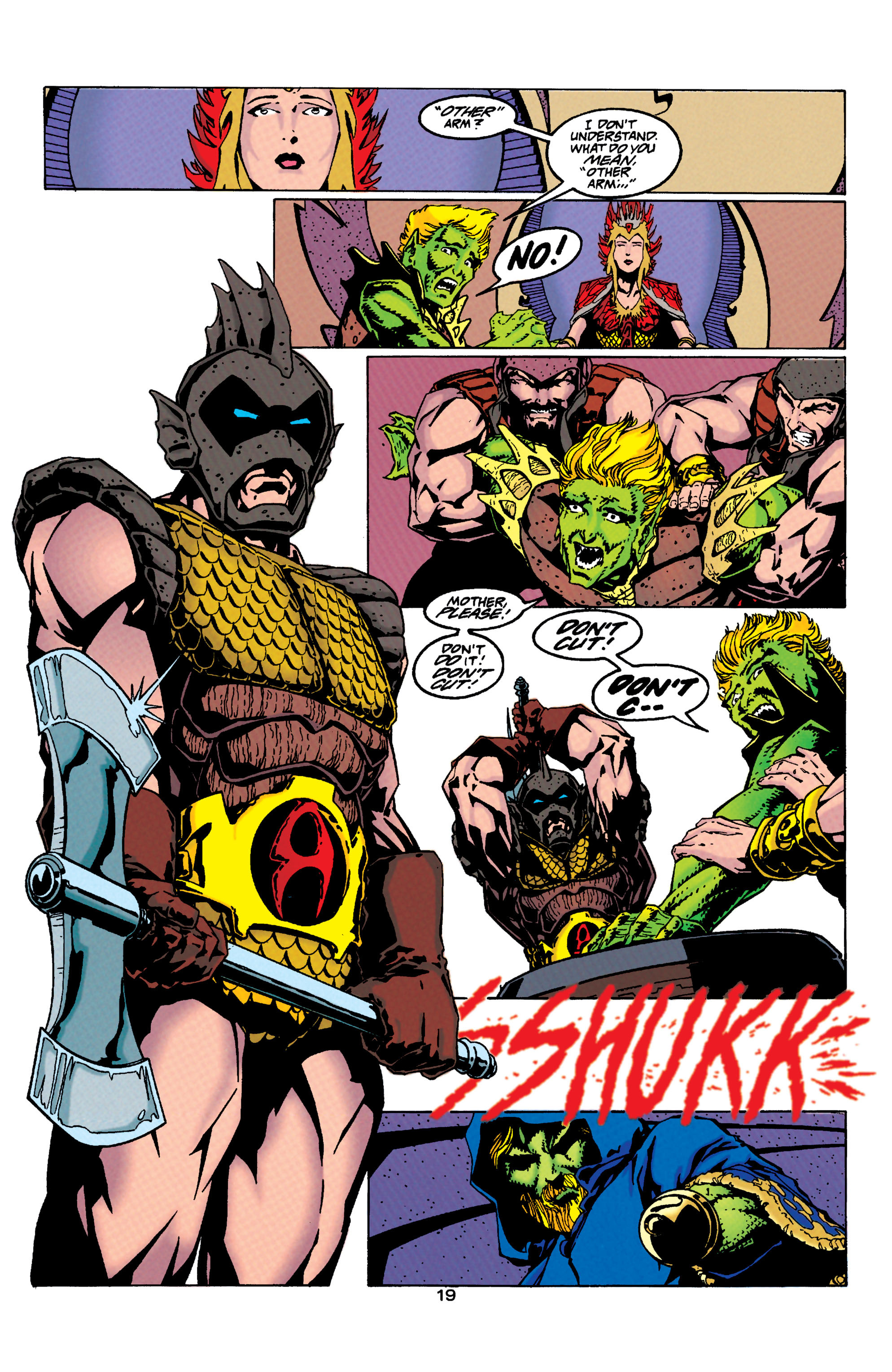 Read online Aquaman (1994) comic -  Issue #33 - 17