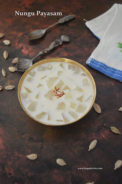 Nungu Payasam | Palm Fruit Kheer | Ice Apple Kheer | Nungu Paal Payasam