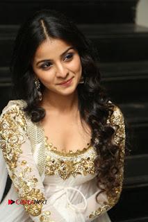 Telugu Actress Mahima Makwana Stills in White Desginer Dress at Venkatapuram Movie Logo Launch  0143.JPG