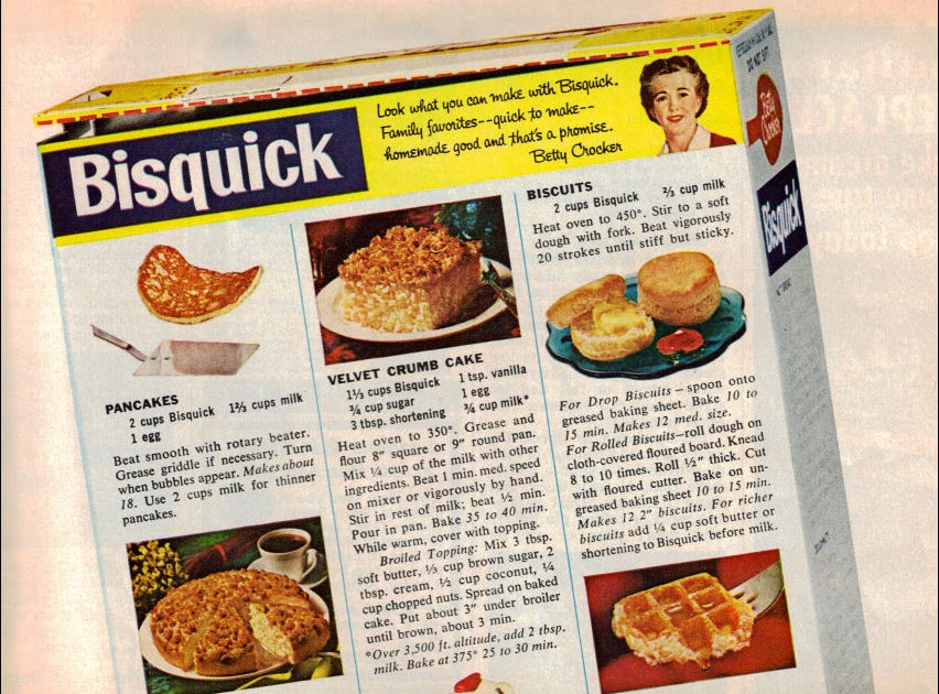 Memere S Favorite Recipes Old Bisquick Recipes Advertisement