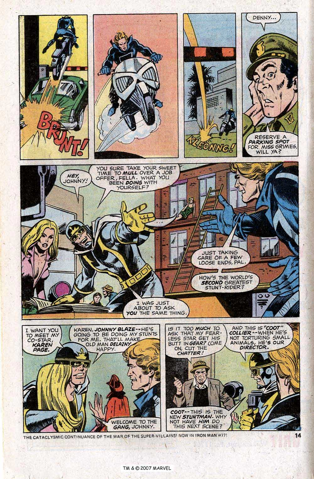 Ghost Rider (1973) Issue #13 #13 - English 16