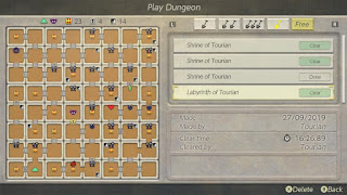 the Journey Labyrinth in the menu, all 64 chambers are filled