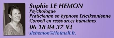 Psychologue, conseil en ressources humaines, praticienne en hypnose