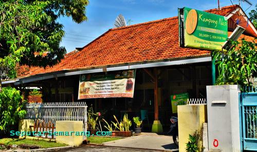Kampung Nasi Erlangga Semarang