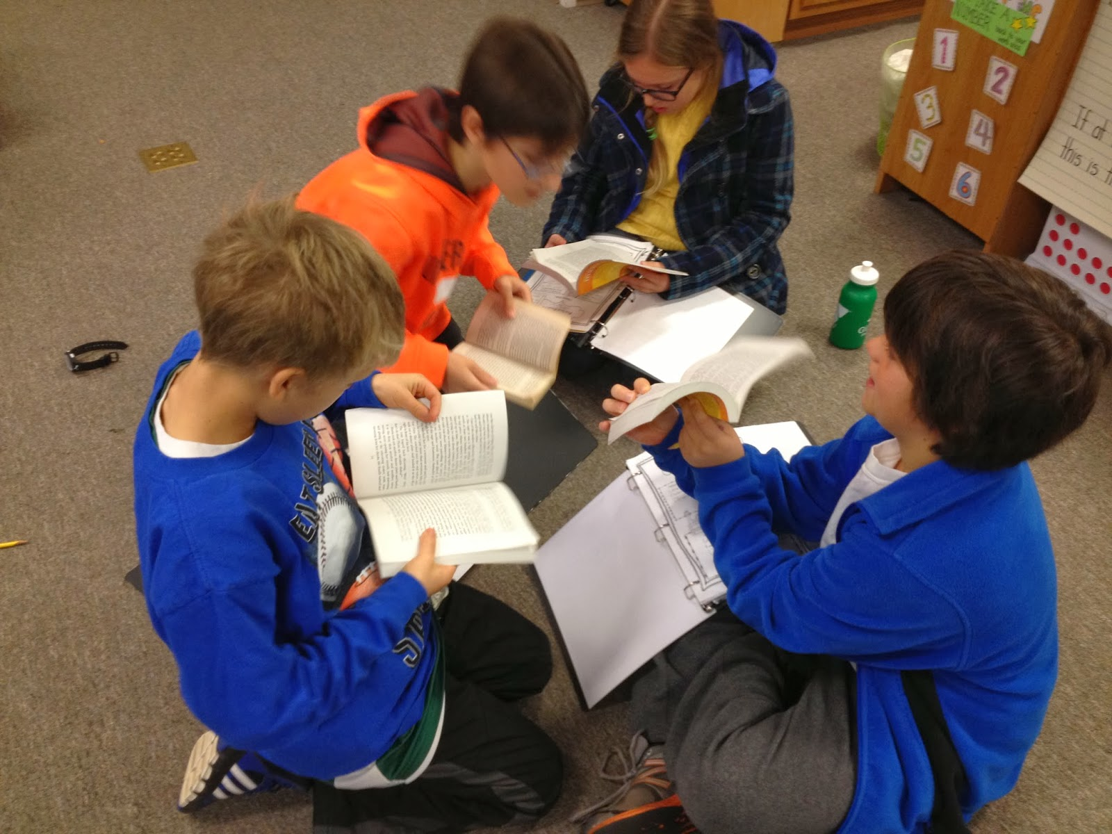 Fern Smith's Guest Blogger ~ Create Meaningful Learning with Literature Circles By Julia at In 5th Grade with Teacher Julia.