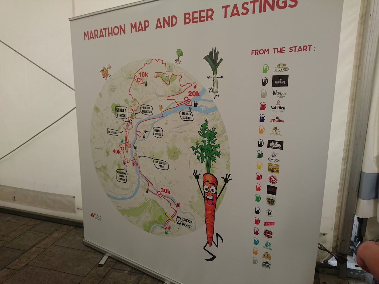 Beer Lovers Marathon Liege versus Marathon de Medoc review Which is