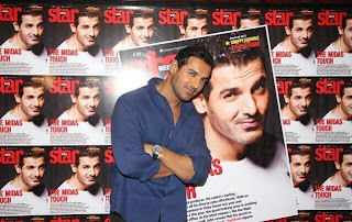 John abraham at launch of Star Week Magazine Cover