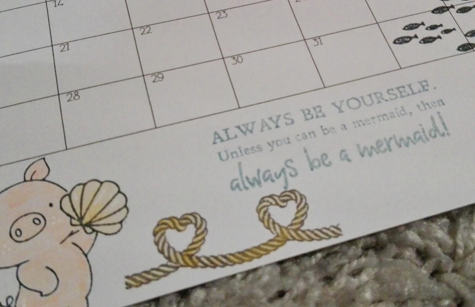lucciola diy kalender freebie selbstgemachter kalender mit stempeln. Black Bedroom Furniture Sets. Home Design Ideas