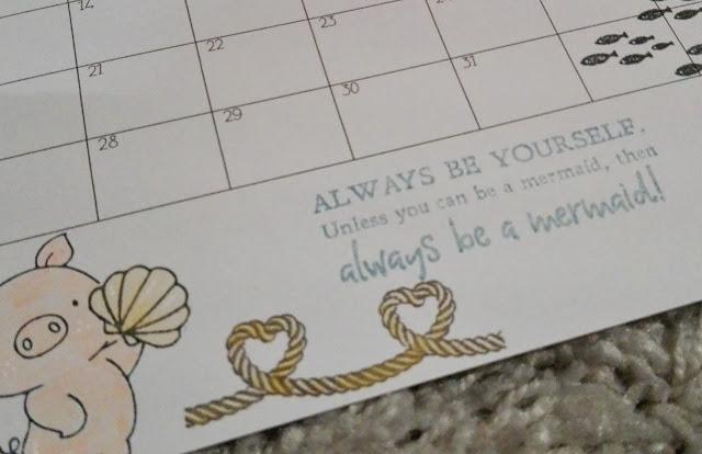 [DIY] Kalender Freebie: Selbstgemachter Kalender mit Stempeln[DIY] Kalender Freebie: Selbstgemachter Kalender mit Stempeln