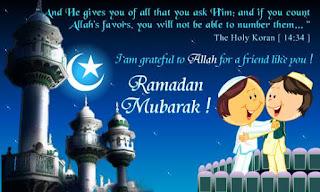 Gambar Kata Kata Ramadhan Mubarak 2017
