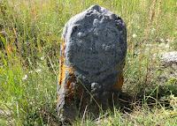 Древнетюркский балбал (Алтай, Кош-Агач, Сайлюгем)