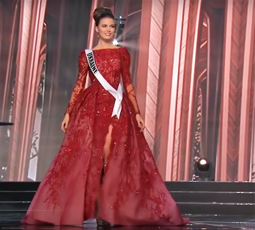 SASHES AND TIARAS     65th Miss Universe Preliminary Competition