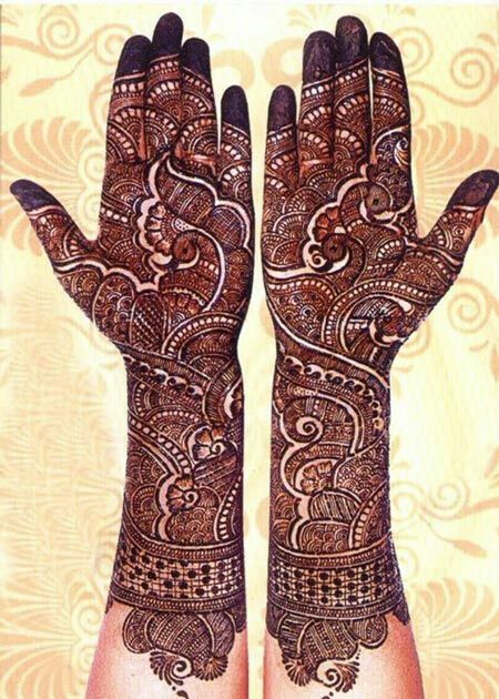 35 Gorgeous Bridal Mehndi Designs For Full Hands Dulhan Mehndi