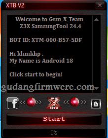 Z3X Carck 24.4 instal di komputer