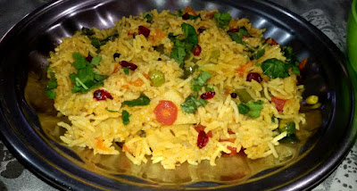 Delicious Mix Vegetable Pulav Recipe