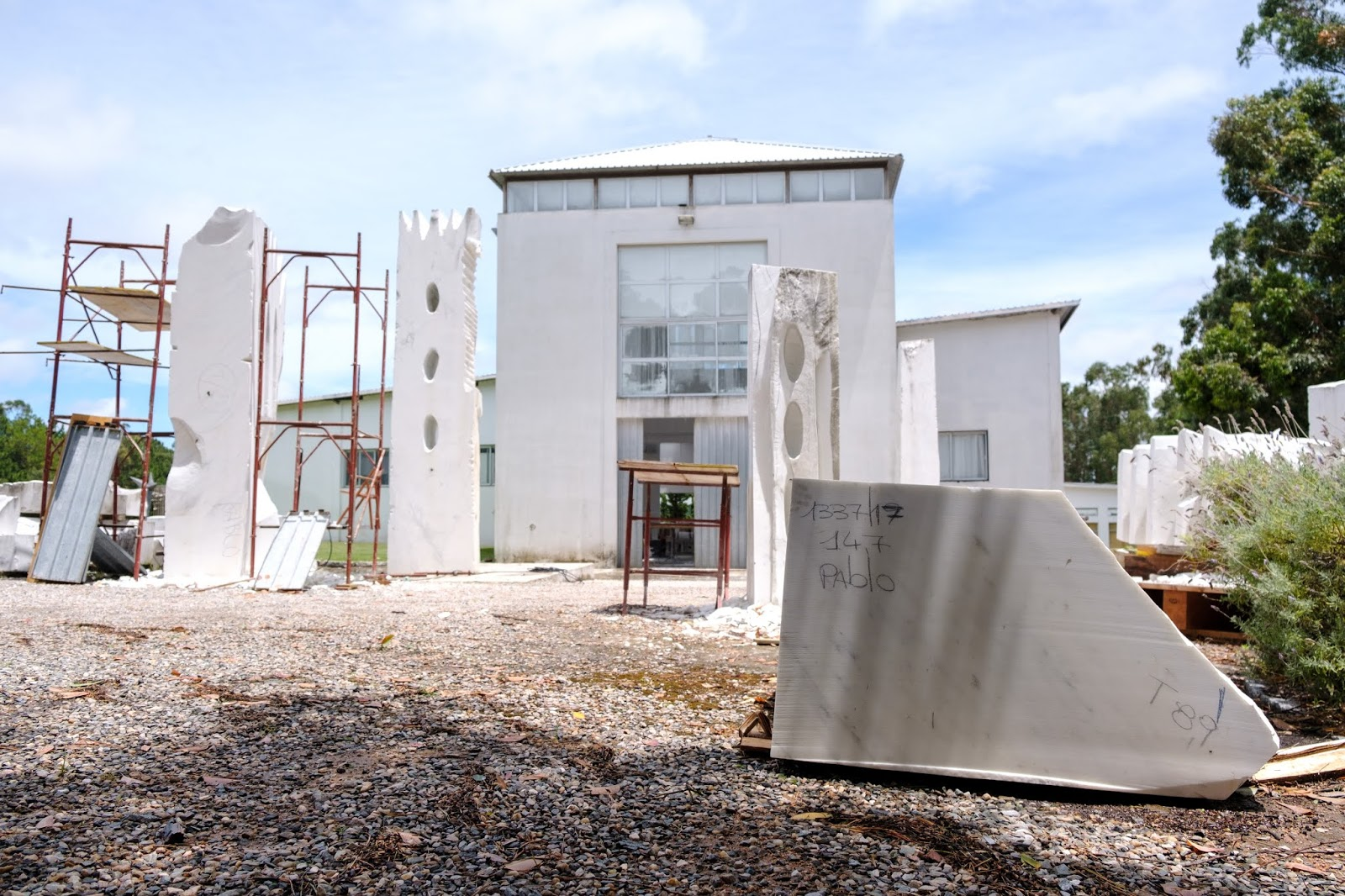 Visita Fundacao Pablo Atchugarry em Punta del Leste