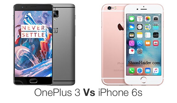 OnePlus 3 vs iPhone 6S : SPEED TEST (Video)
