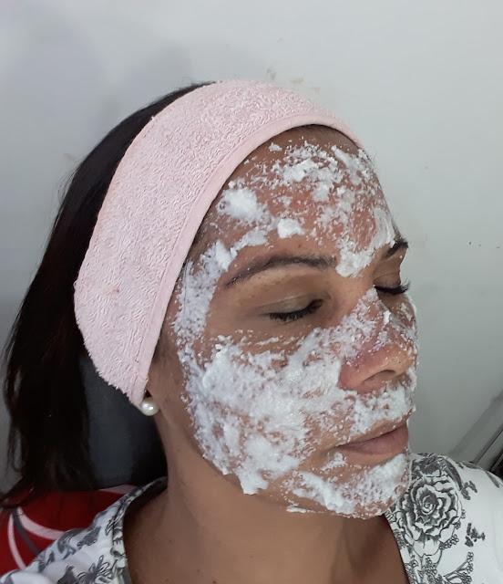 Mascara de farinha de arroz - belanaselfie5