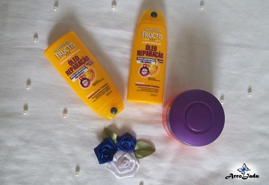 Garnier Fructis- Óleo Recuperação e Liso Absoluto
