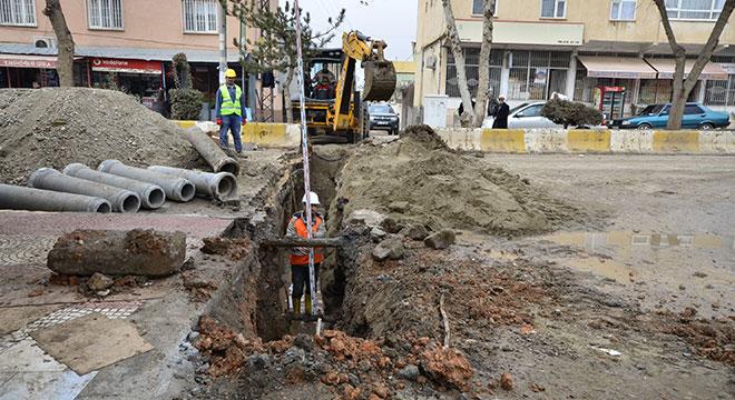 DİSKİ, Çınar'ın altyapısını yeniliyor