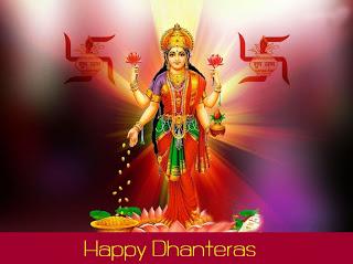 Happy-Dhanteras-laxmi-mata-wallpaper-image-