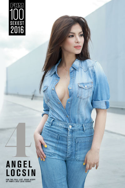 FHM 2016 Angel Locsin