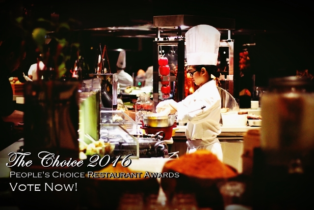 The Choice 2016 People's Choice Restaurant Awards Your Favorite Best Restaurants in Manila and Beyon Our Awesome Planet Bloggers Collective The KTG YedyLicious Manila Food Blog Bet Restaurants in Manila Philippines Award