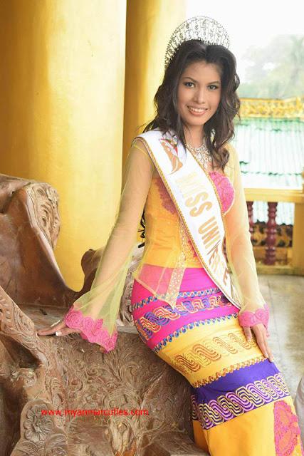 Miss Universe Bago 2016- Cherry Chit Chit Tun