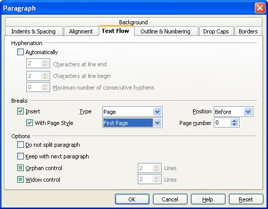 lifeoncode OpenOffice Writer -How to Remove Page Number only from