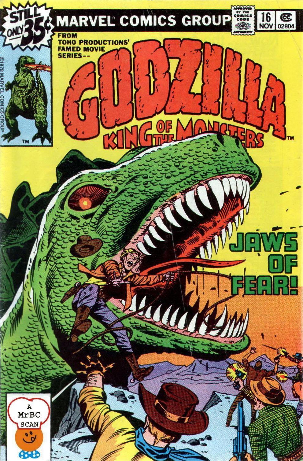 Godzilla (1977) issue 16 - Page 1