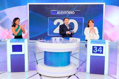 Suzana, Silvio e Myrian (Crédito: Lourival Ribeiro/SBT)